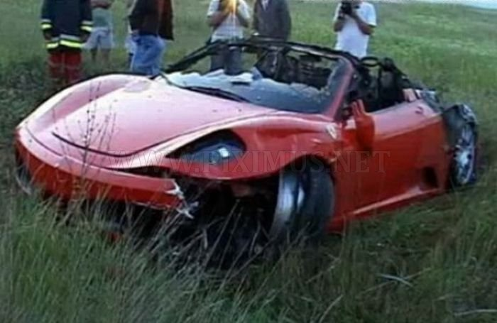 Wrecked Supercars