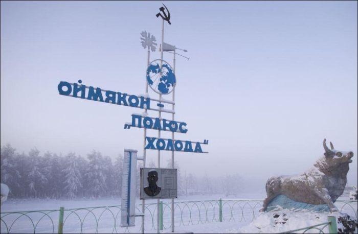 Welcome to Oymyakon, Russia