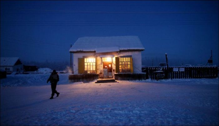 Welcome to Oymyakon, Russia