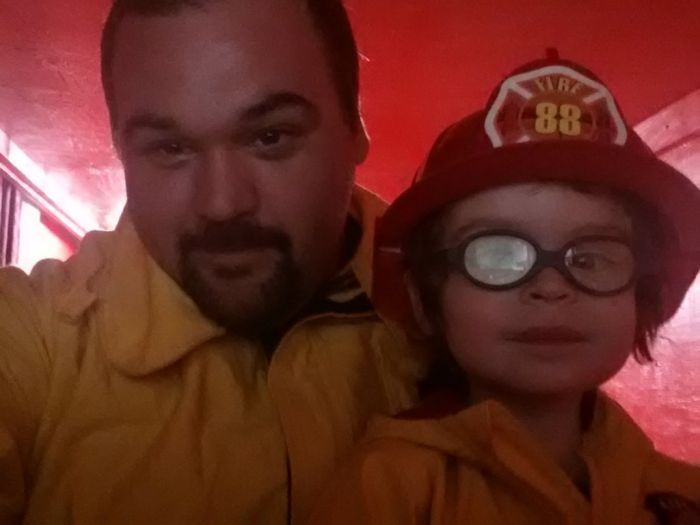 Firefigther Builds a Truck for His Son