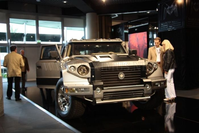 Armored SUV Prombron L4P Ladies.Only by Dartz