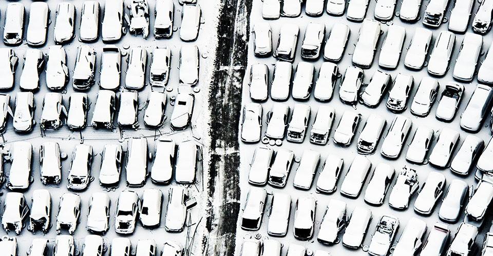 Netherlands under snow
