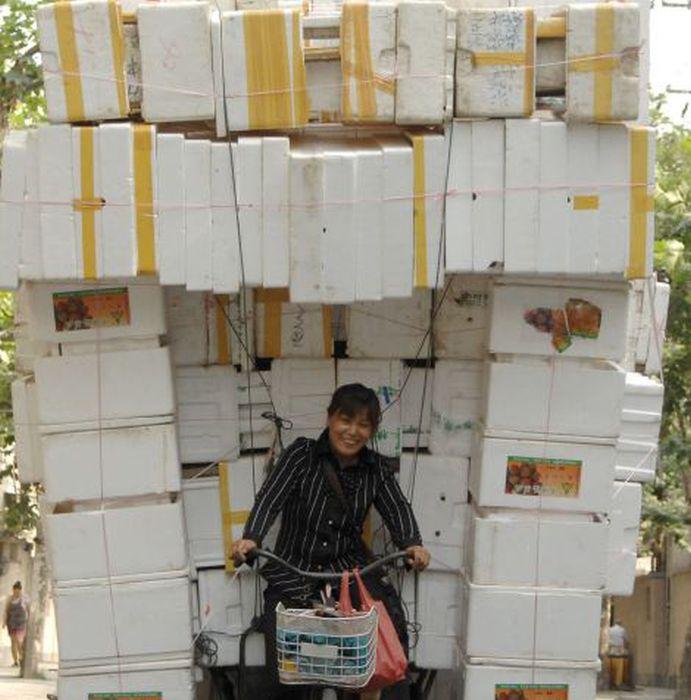 Wide Loads in China