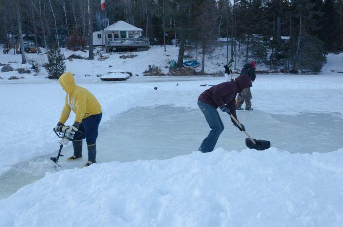 DIY Ice Rink