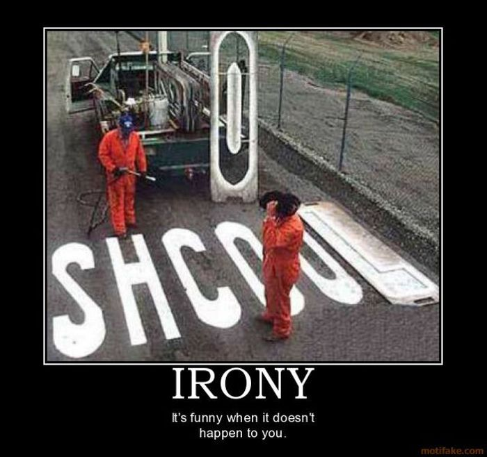 Pictures with Irony