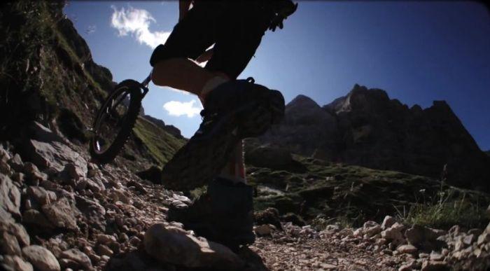 Extreme Mountain Unicycling