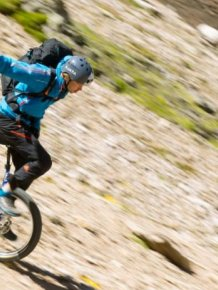 Extreme Mountain Unicycling