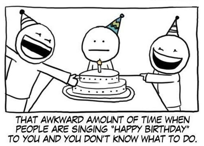 That Embarrassing Moment When…
