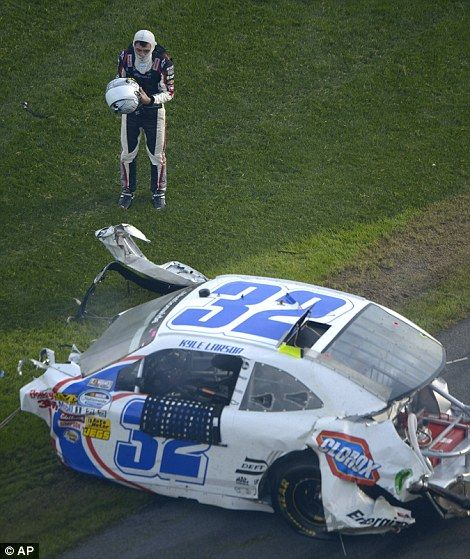 Serious accident in NASCAR Daytona 500