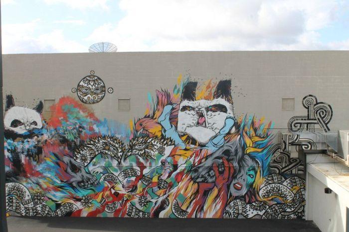 Hawaii Pow Wow Graffiti 2013, part 2013