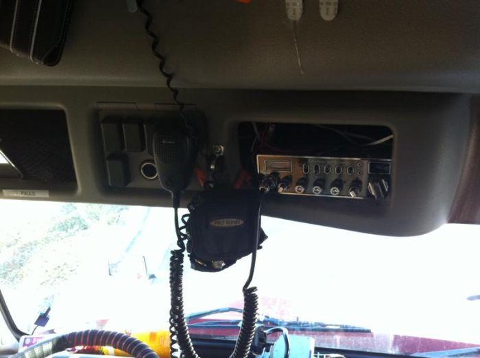 What It Looks Like Inside a Truck