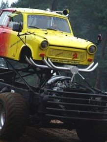 Funny Car-Themed Photos