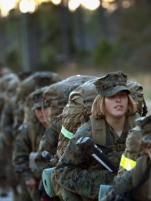 Female Marines