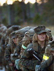 Female Marines