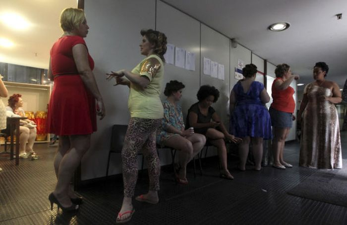 Fashion Show for Overweight Women
