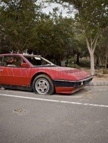 Abandoned Ferrari Mondial 1980