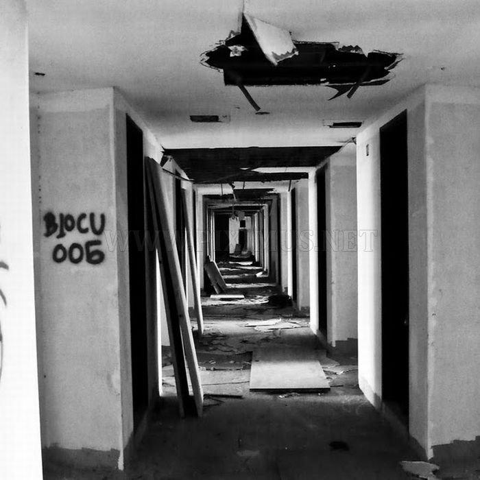 Abandoned 50-story Building in Bangkok