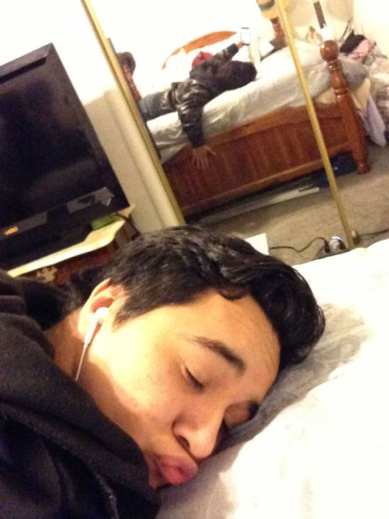 Babe Caught Me Sleeping