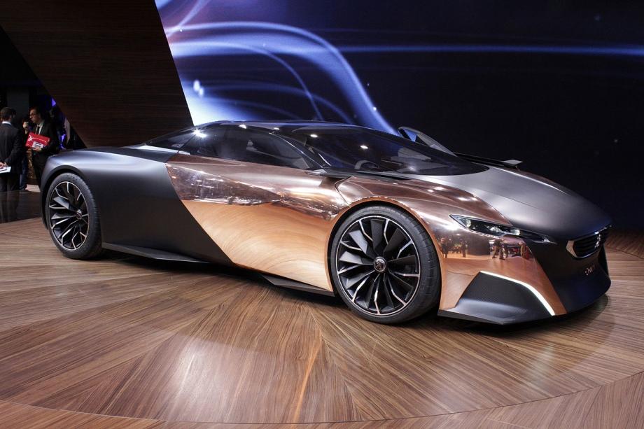 Peugeot Onyx Hybrid Concept