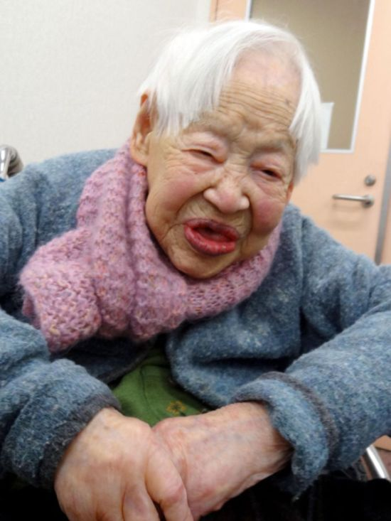 World's Oldest Woman Misao Okawa