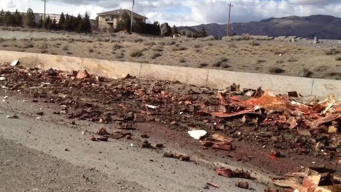 Ketchup Truck Crash