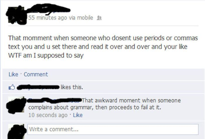 English Language Fails