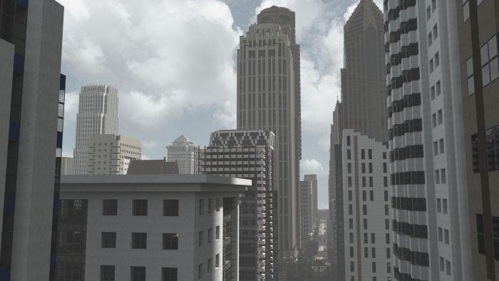 Minecraft City