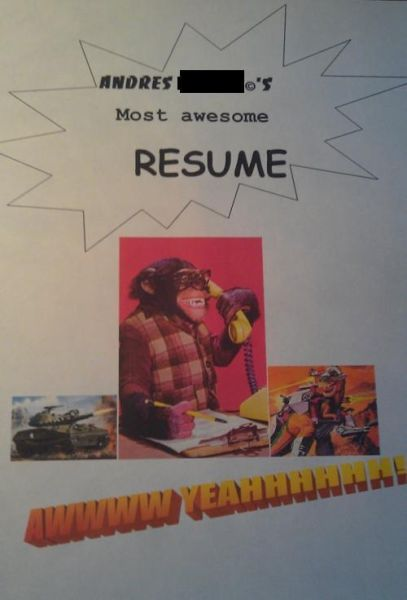 Hilarious Resumes
