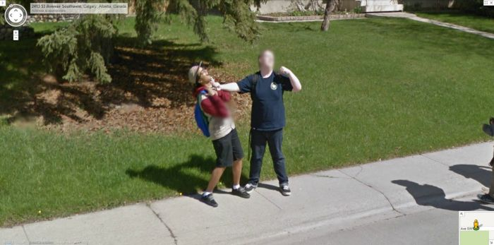 Interesting And Funny Google Street View Images Fun