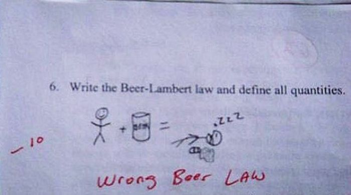Funny Exam Answers