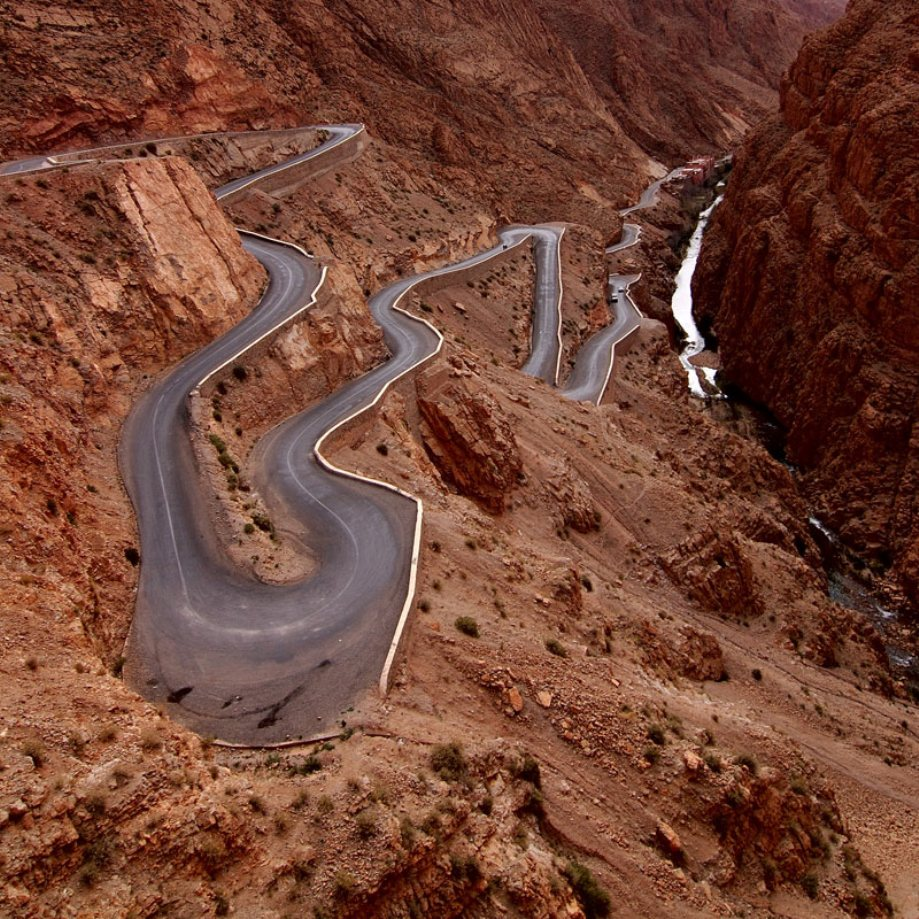 Beautiful roads around the World
