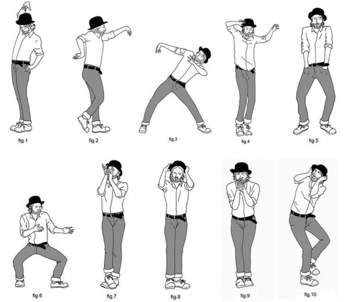 Infographics That Will Teach You to Dance