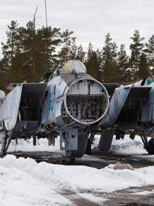 Graveyard of MiG-31
