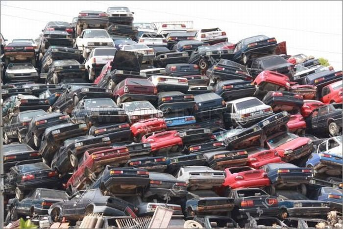 Confiscated Cars