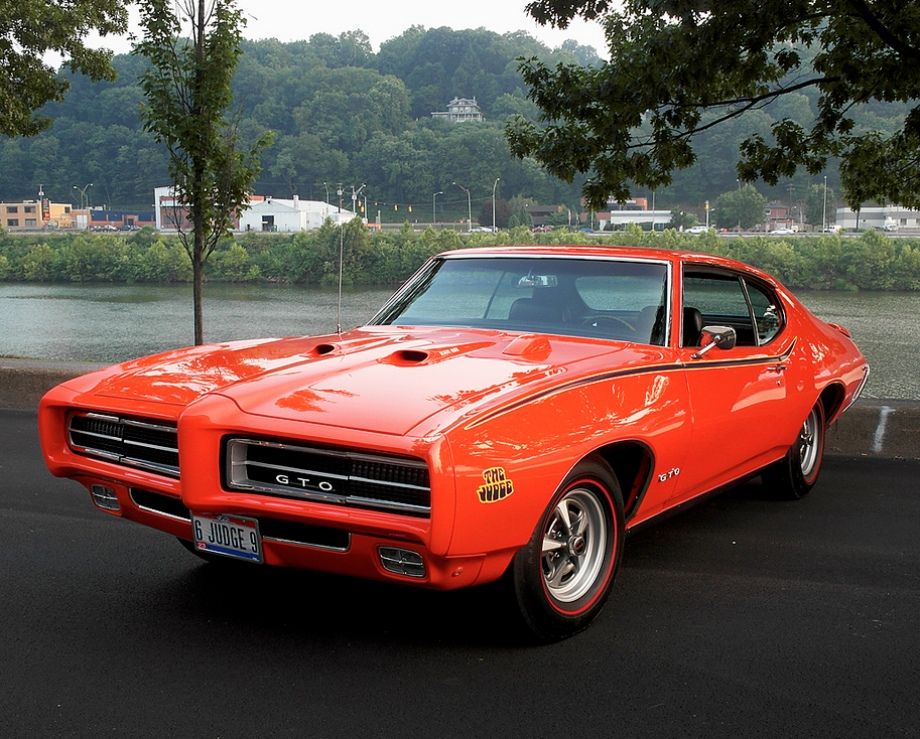 1969 pontiac gto judge vehicles