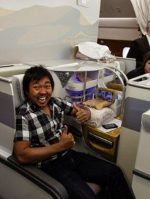 Business Class on Emirates Air