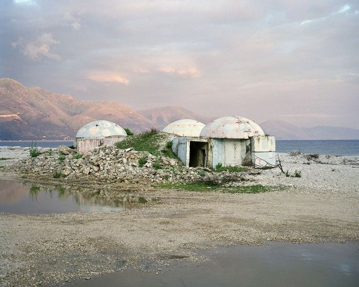 Bunkers in Albania
