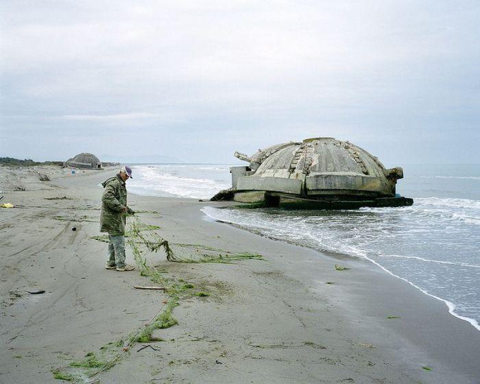 Bunkers in Albania