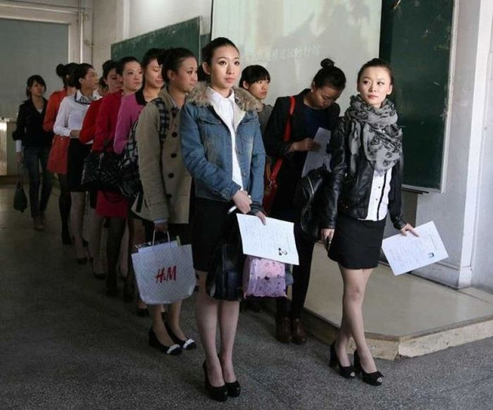 Castings for Stewardesses in China