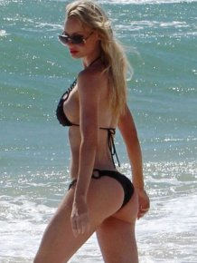 Beach Bums of Famous Girls