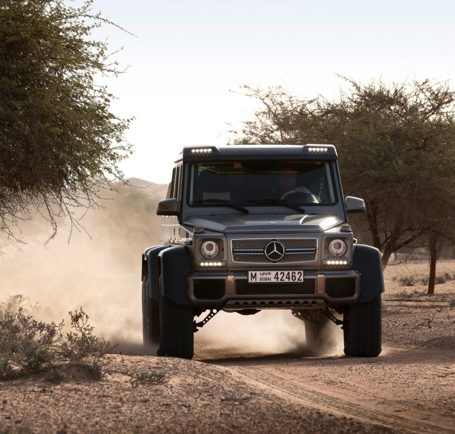 mercedes g63 amg 66 in action - Mercedes G Class 66