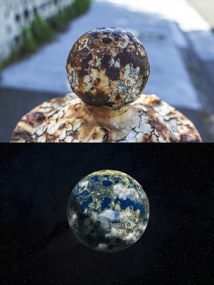 Rusty Fire Hydrant Planets