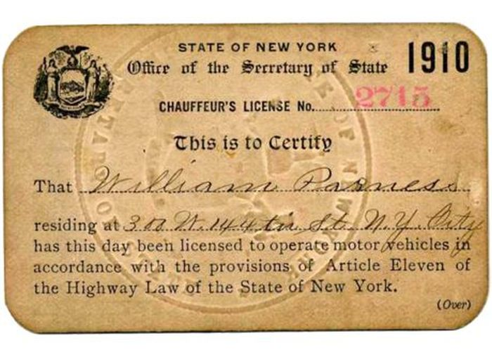 Evolution of the New York Driver's License