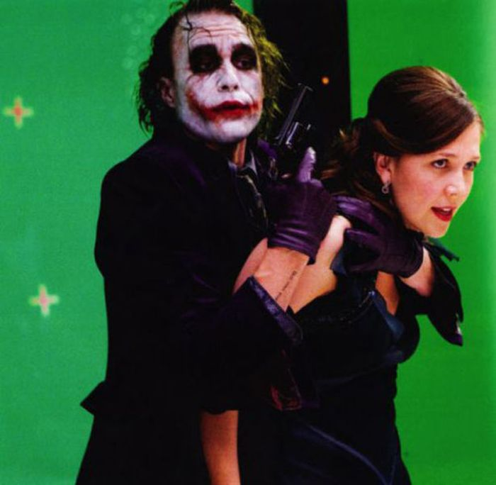 "Heath Ledger on the Set of ""The Dark Knight"""