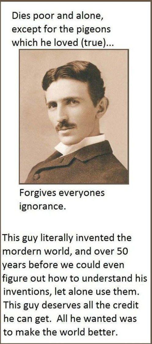 Facts about Nikola Tesla