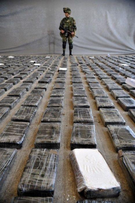 Cocaine Lab in Columbia