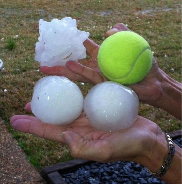Mississippi Hailstorm