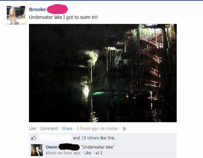 Stupid Posts on Facebook