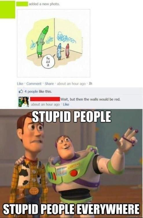 Stupid Posts on Facebook
