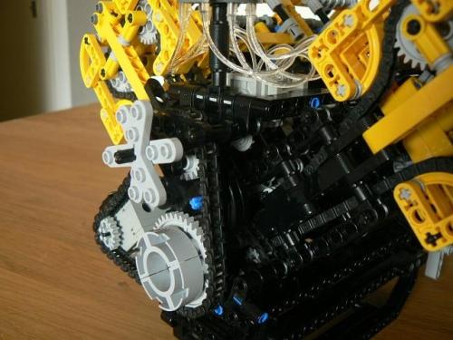 V8 Lego Engine